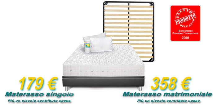 Offerta Light materasso Mito Bioenergy e accessori