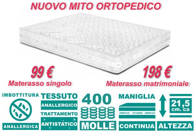 Pagina non trovata for Eminflex materasso singolo 79 euro
