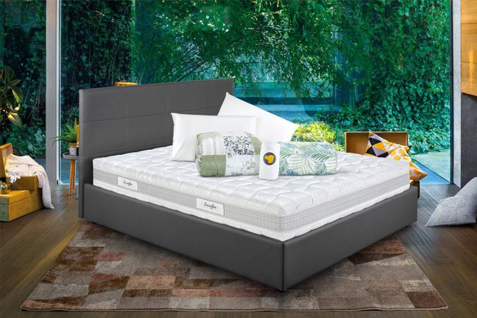 Offerta materasso naturity e letto armadio eminflex for Eminflex con letto ecopelle