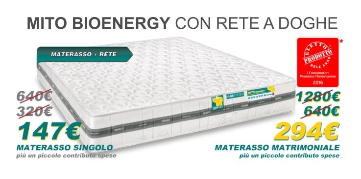 Materassi anallergici ergonomici memory foam offerte for Eminflex offerta tv con letto contenitore