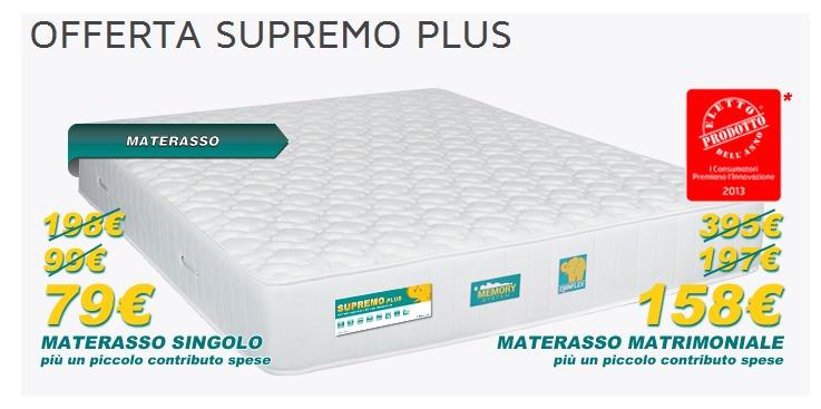 Materassi eminflex e sconti promozionali for Prezzi materassi eminflex