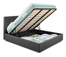 Offerta materasso eminflex con letto armadio contenitore for Eminflex offerta tv con letto contenitore
